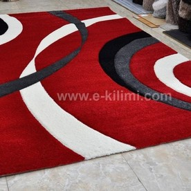Килим Dream carving 8277 red cream black