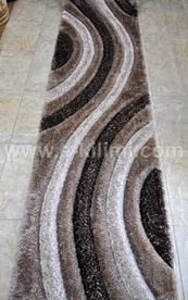 Пътека 3 D Soft shaggy 503 vizon brown