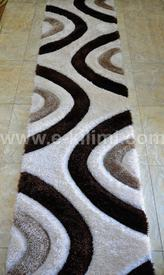 Пътека 3 D Soft shaggy 523 beige brown